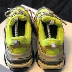 Balenciaga Shoes - Neon green Balenciagas Tripple S